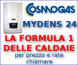 Offerta Caldaia COSMOGAS MYDENS a doppia condensazione 24 Kw