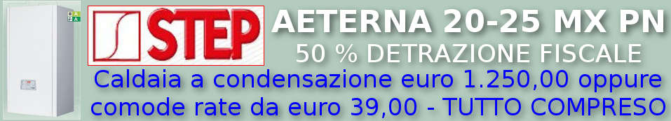 Caldtaia STEP AETERNA 20-25 MX PN in offerta e a rate