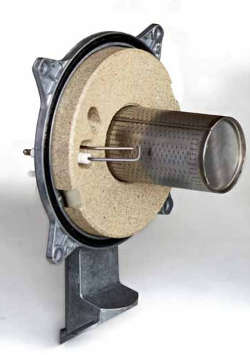 Bruciatore a microfiamma della caldaia STEP AETERNA MX PN
