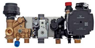 Gruppo idraulico della caldaia STEP AETERNA MX PN