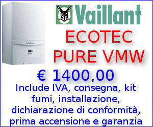 Offerta Caldaia Vaillant ecoTEC Pure VMW