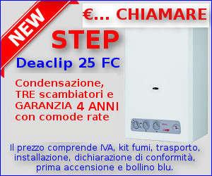 Offerta Caldaia STEP DEACLIP 25 KW