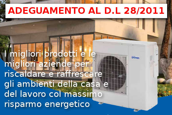 DL 20/211 quota obbligatoria energie rinnovabili in caso di ristrutturazioni rilevanti o nuovi edifici