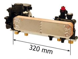 Scambiatore di calore maggiorato delle Caldaie Cosmogas