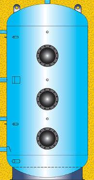 Boiler serie Comfort S ad accumulo smaltato per acqua sanitaria senza serpentini