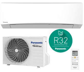 PANASONIC PZ 12000 BTU GAS R32