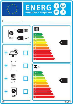 Etichetta Energetica per AETERNA FC 25 KW